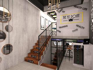 Gimnasios en casa de estilo moderno por TARC İÇ MİMARLIK RESTORASYON TİC. LTD. ŞTİ.