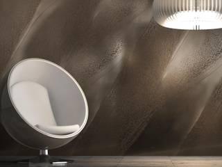 Il vero Metallo prezioso sulle tue pareti! : Pareti in stile  di EDIL GIARDINA