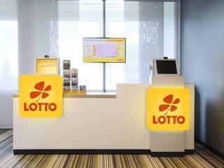 Toto-Lotto Niedersachsen GmbH Ausgefallene Bürogebäude von Hannibal Innenarchitektur Ausgefallen