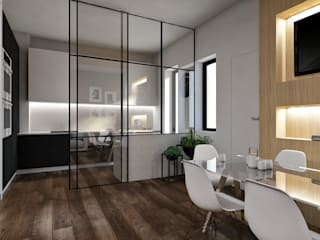 Ristrutturazione e arredo d'interni StudioExNovo Cucina moderna