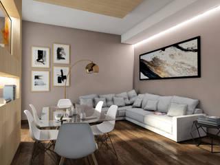 Zona living: Soggiorno in stile in stile Moderno di StudioExNovo
