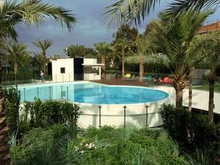Clôture de piscine en verre Inoxkit Piscine moderne