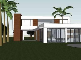 Residência Araçagy - São Luís, MA Casas modernas por Oca Bio Arquitetura e Design Moderno
