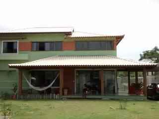 Residência Caravelas do Peró - Cabo Frio, RJ Casas rústicas por Oca Bio Arquitetura e Design Rústico