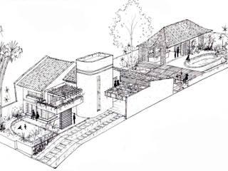 Casa dos Cocais - Reforma de Residencia - São Luís, MA:  tropical por Oca Bio Arquitetura e Design,Tropical
