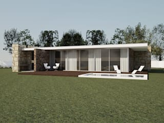 Moradia Unifamiliar: Casas unifamilares  por comSequência - Arquitectura & Design