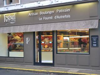 Boulanger Patissier Le Fournil d'Autrefois: Espaços de restauração  por comSequência - Arquitectura & Design