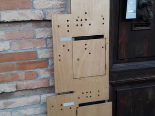 mailbox_tamgram:  in stile  di Francesca Di Giannantonio_Architetto, Minimalista