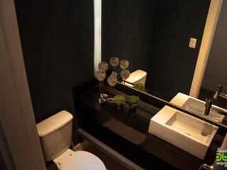 Apartamento Banheiros modernos por Estudio Duo Arquitetura e Design Moderno