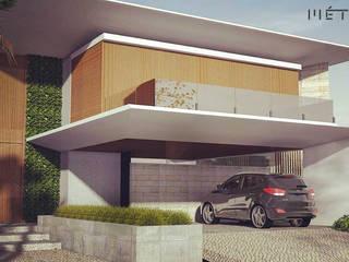 Casa AlC em campo Mourão PR por Métrica Arquitetura Moderno