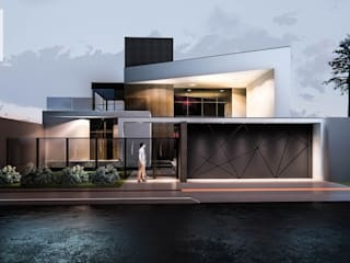 Modern houses by Welington Nogueira · Arquitetura, Urbanismo e Design Modern