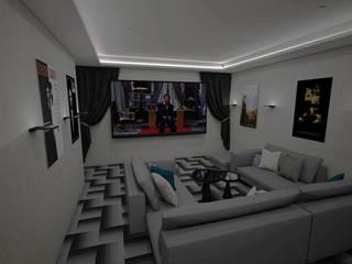 Residencia Valle Real: Electrónica de estilo  por LUCCA STUDIO INTERIORISMO,