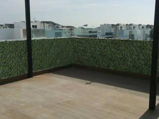 Modern style balcony, porch & terrace by pb Arquitecto Modern