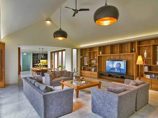 Livings de estilo moderno de e.Re studio architects Moderno