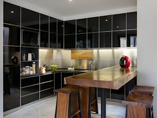 e.Re studio architects 現代廚房設計點子、靈感&圖片