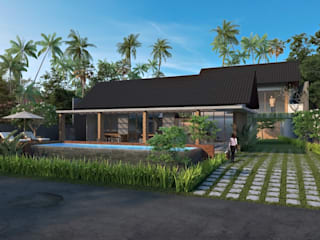 batukaras villa Oleh e.Re studio architects