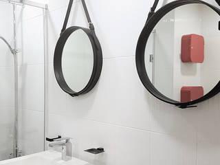 월곡두산위브: thedesigns의  욕실