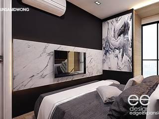 ตกแต่งคอนโดมิเนียม 1 bedroom modern luxury:   by EEdesign studio