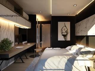 ออกแบบและตกแต่งคอนโดมิเนียมหรูริมแม่น้ำเจ้าพระยา:   by EEdesign studio