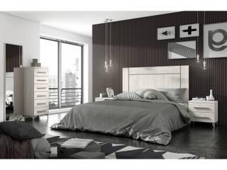 Dormitorio de matrimonio:  de estilo  de MerkamuebleVigo