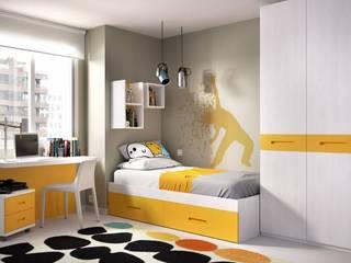 Habitaciones infantiles y juveniles de MerkamuebleVigo Moderno