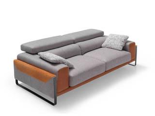 Sofá moderno:  de estilo  de MerkamuebleVigo