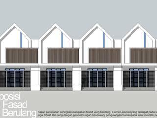 Fasad berulang:   by HRW architect