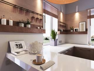 LUXEMBURG Built-in kitchens Wood Beige