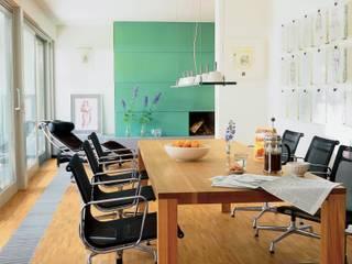 Wohnhaus aus den 1980ern Moderne Esszimmer von Monika Schäfers Innenarchitektur Modern