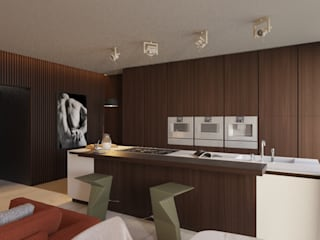 LUXEMBURG Eclectic style kitchen Wood Beige