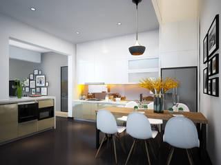 Âu cơ Villa: hiện đại  by Công ty cổ phần Kiến trúc và xây dựng AST, Hiện đại