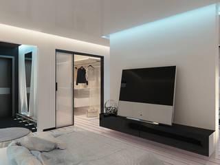 LUXEMBURG Minimalist living room White