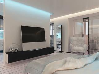 LUXEMBURG Minimalist bedroom White