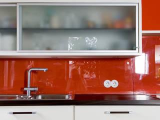 Barrierefreie Küche: modern  von Monika Schäfers Innenarchitektur,Modern