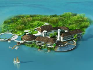 Khu nghỉ dưỡng Đảo Ngọc bởi Công ty cổ phần Kiến trúc và xây dựng AST Nhiệt đới