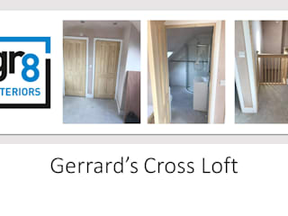 Loft extension, Gerrards Cross Classic style corridor, hallway and stairs by Gr8 Interiors Ltd Classic