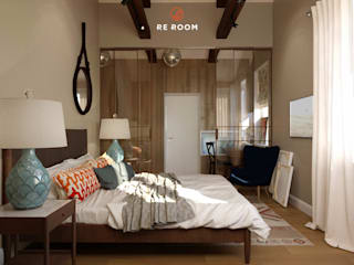 Eclectic style bedroom by Reroom Eclectic