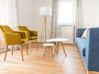 Office Design – Moderne Steuerkanzlei als Aushängeschild:  Bürogebäude von vierwandglück GmbH