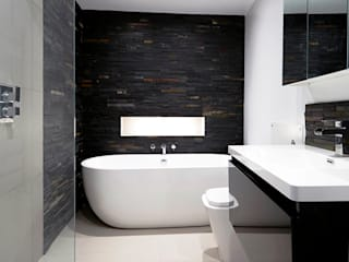 Town House Loft extension, full internal refurbishment, London W2: modern Bathroom by Gr8 Interiors Ltd