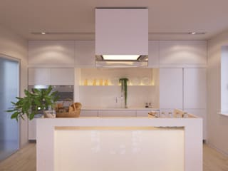 Minimalist kitchen by LUXEMBURG Minimalist