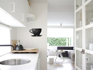 Kitchen Wall Styling: modern  by Just For Clocks,Modern