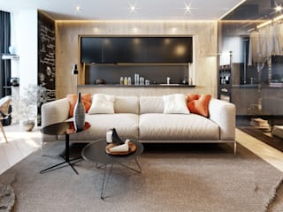Modern living room by Design Evolution Modern