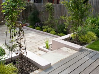 Jardines de estilo  por Earth Designs