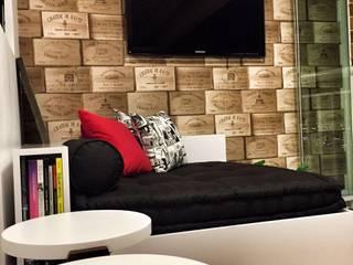 Salas de estilo  por PILOTTIZ ARQUITETURA E DESIGN