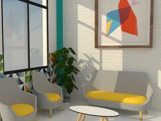 GUARDERÍA : Estudios y despachos de estilo  de MTD studio and design