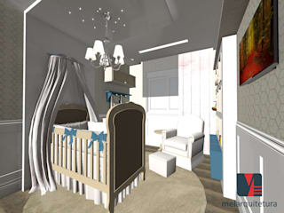 Baby room by MEI Arquitetura,