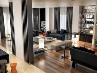 Madinaty House | Interiors Modern Living Room by BAX Modern