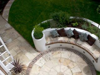 Raised Bed Mediterranean style garden by Earth Designs Mediterranean