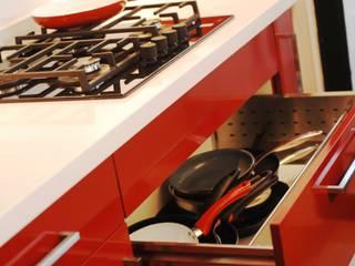 Cajón porta ollas.:  de estilo  por ABS Diseños & Muebles