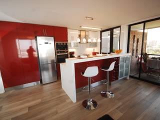 Cocina Providencia de ABS Diseños & Muebles Moderno